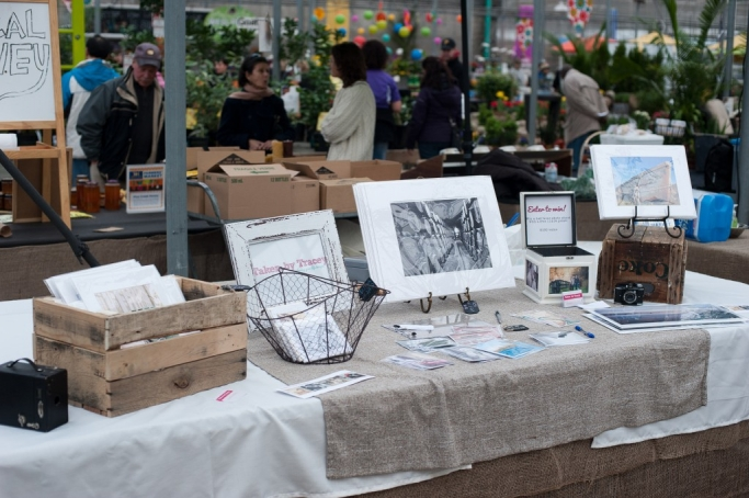 My booth at the market!